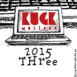MP3 CD Compilation, KUGKmusique 2015 THREE, Cover