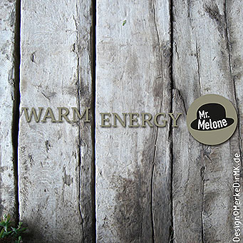 Mr. Melone, Warm Energy, Kurt Kreft, Cover